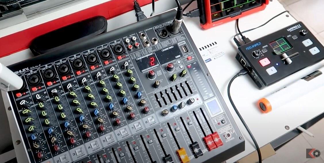 Cara Menyambungkan Suara Mixer Audio Sound ke Switcher Live Streaming